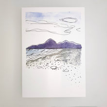 Mourne Mountains card