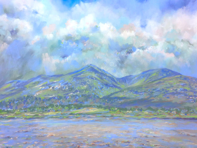 After the Rain, Mourne Mountains - Mounted Print