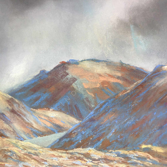 Central Mournes/Brandy Pad - Mounted Print