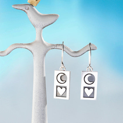 To the Moon and Back Earrings