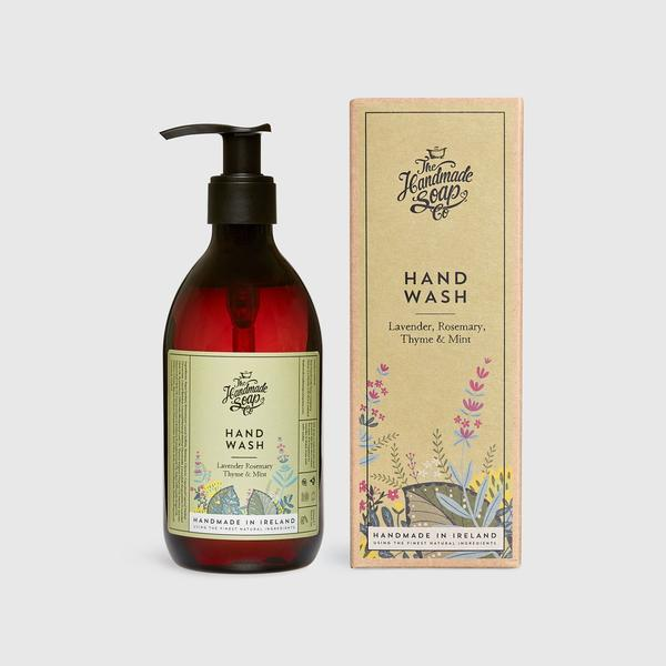 Lavender, Rosemary, Thyme & Mint Hand Wash | Handmade Soap Company  at Painted Earth