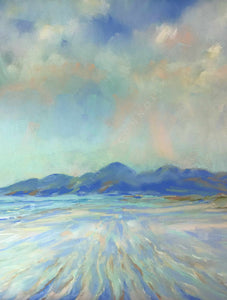 Murlough Sands (Portrait) - Mounted Print