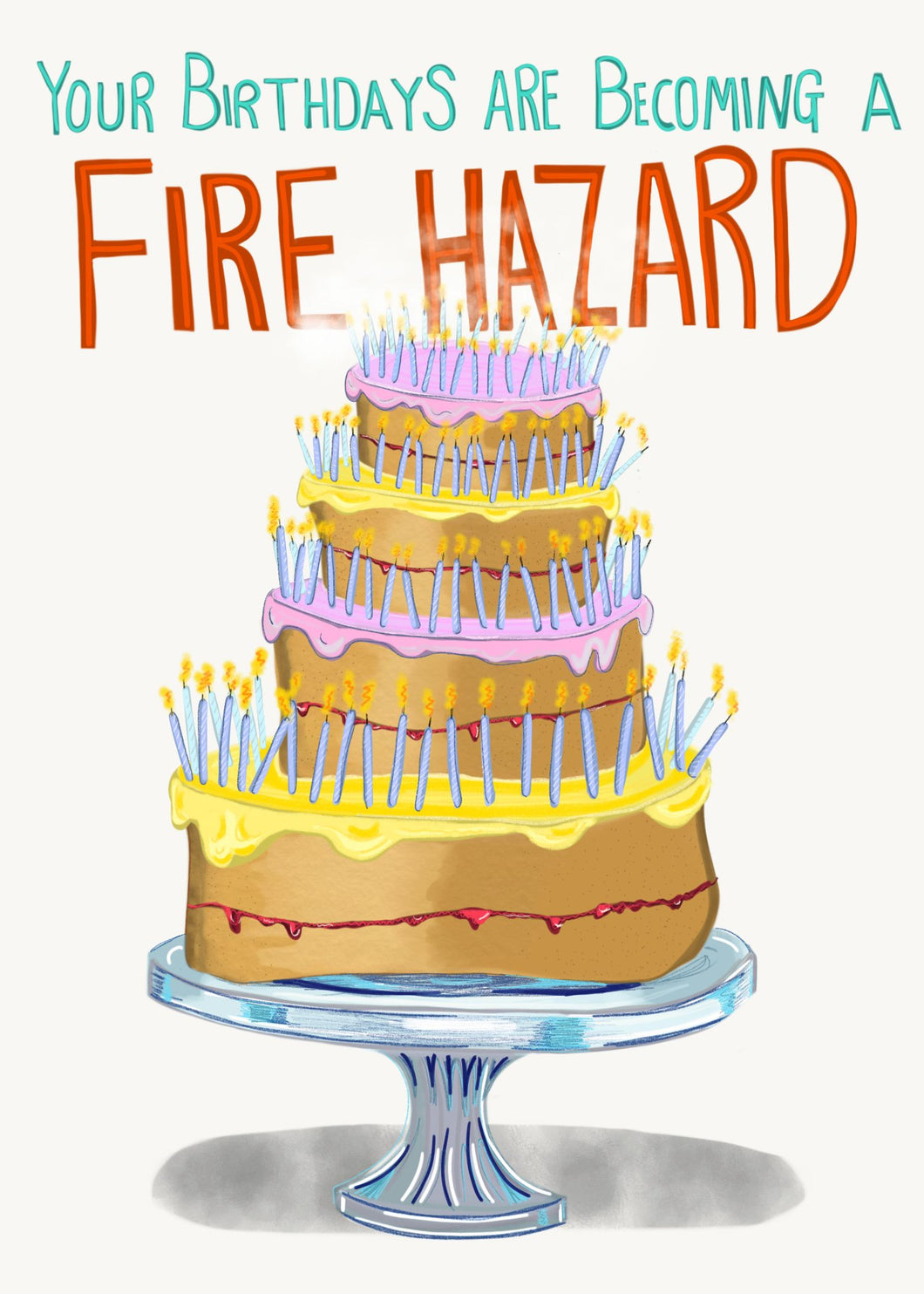 Fire Hazard card