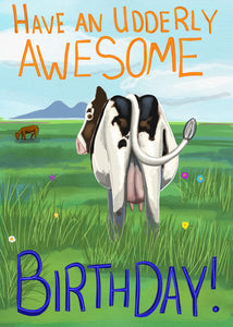 Udderly Awesome Card