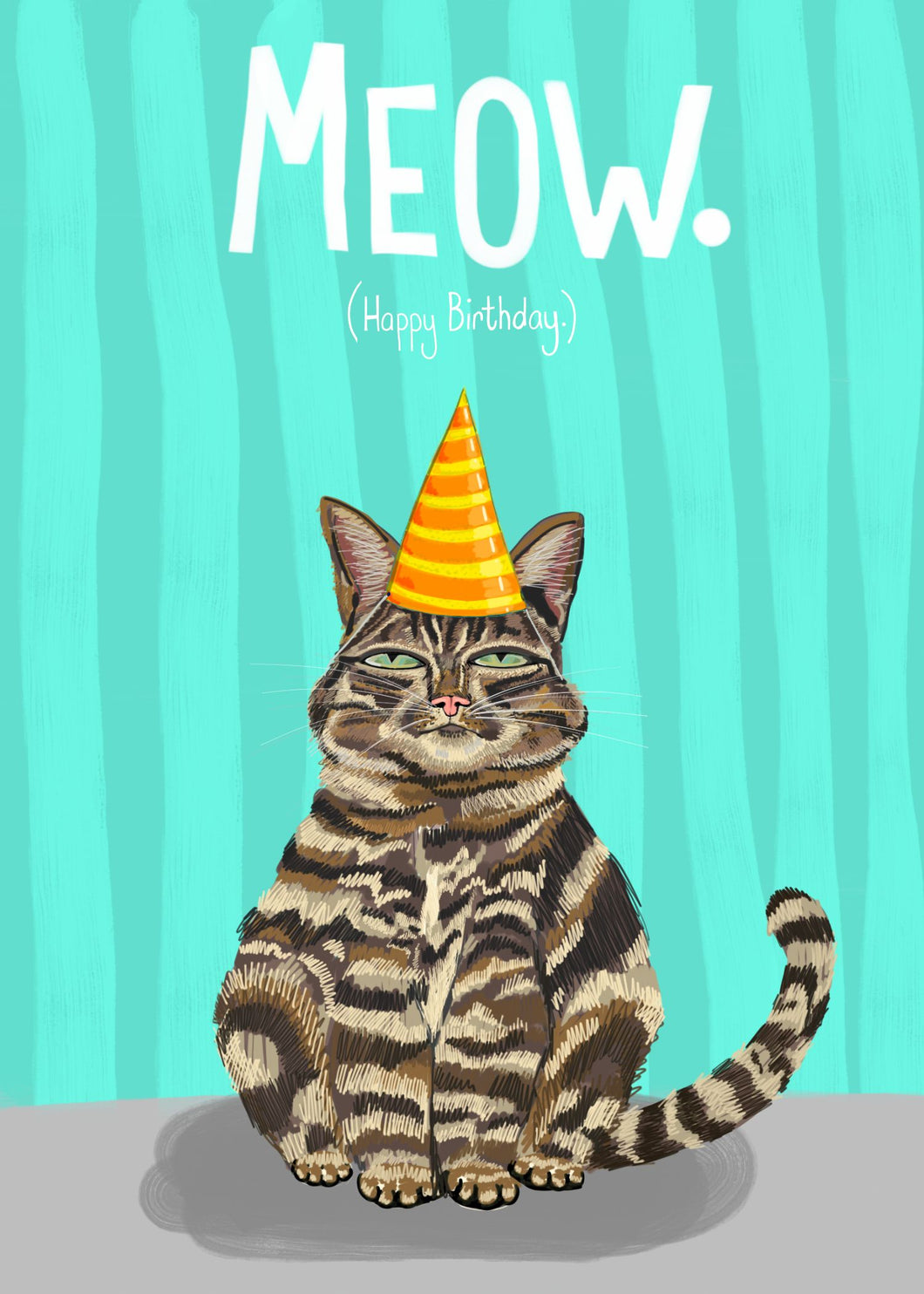 Happy Birthday Meow