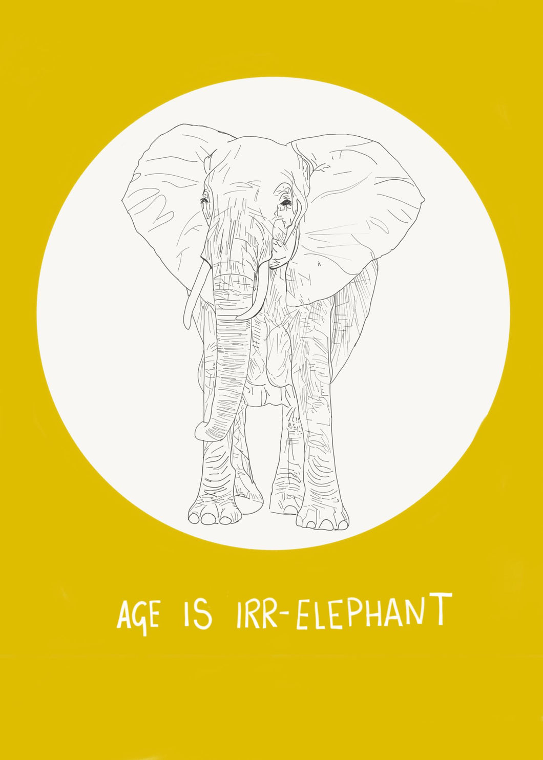 Age is Irr-elephant card