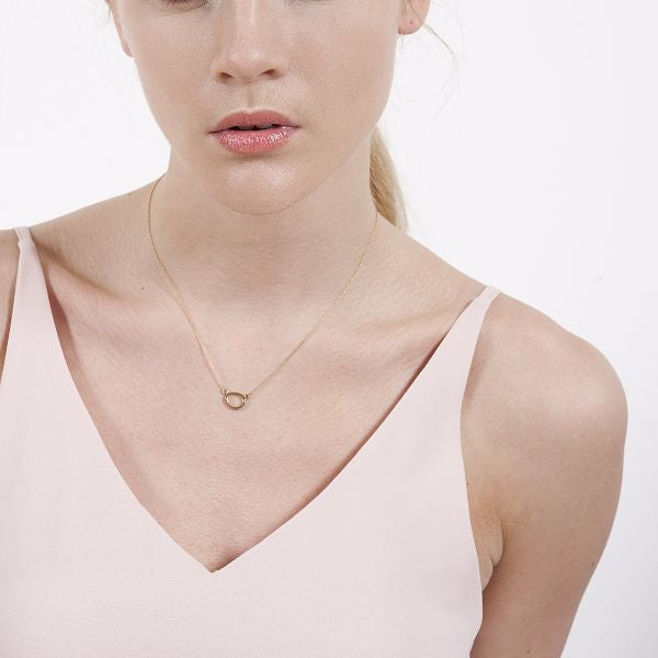 CLOCH Small Necklace 9CT Gold