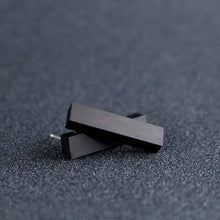 Rectangle Studs Black