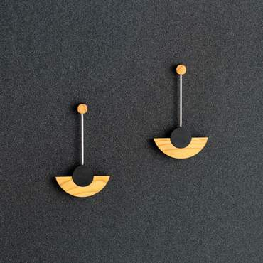 Kandinsky Drop Earrings