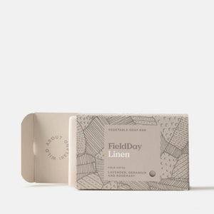 Linen Soap Bar Field Day