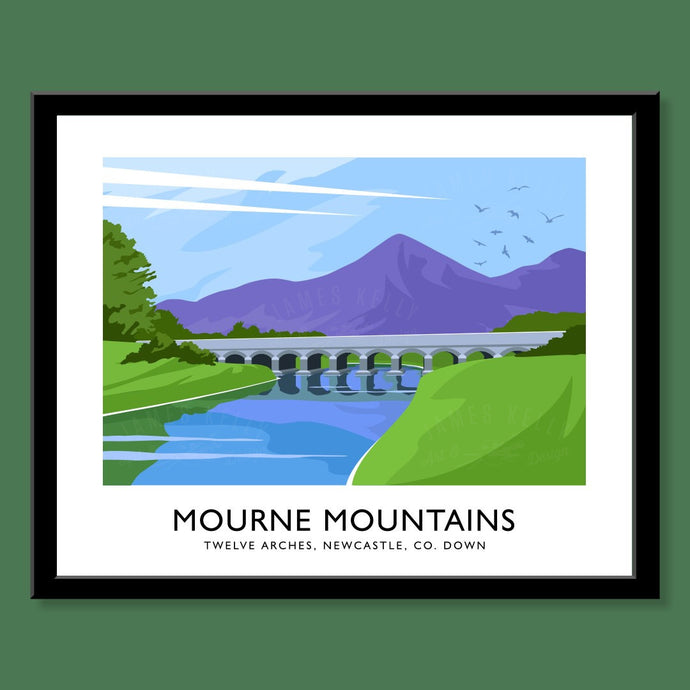 Mourne Mountains, Twelve Arches - Print