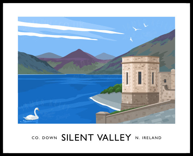 Silent Valley Print