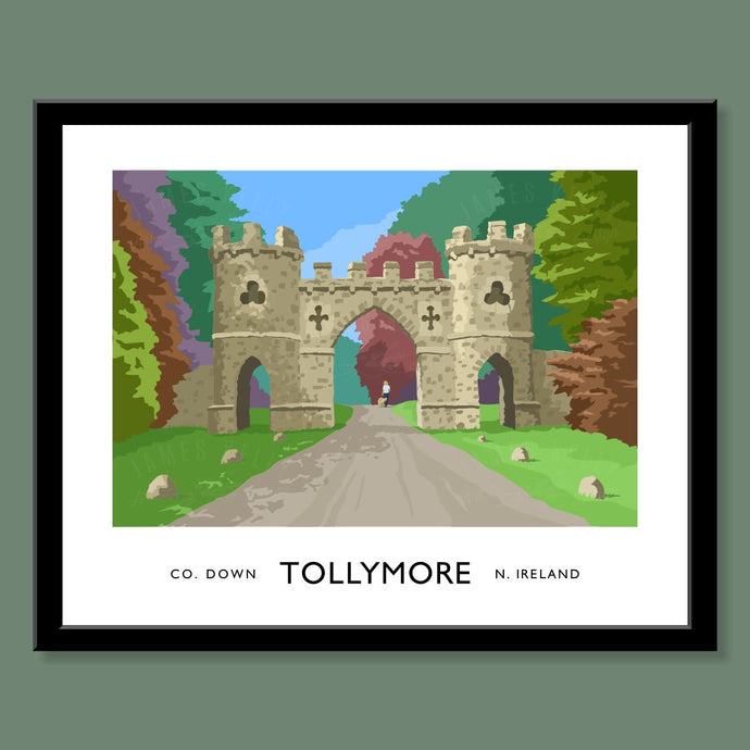 Tollymore Gate - Print