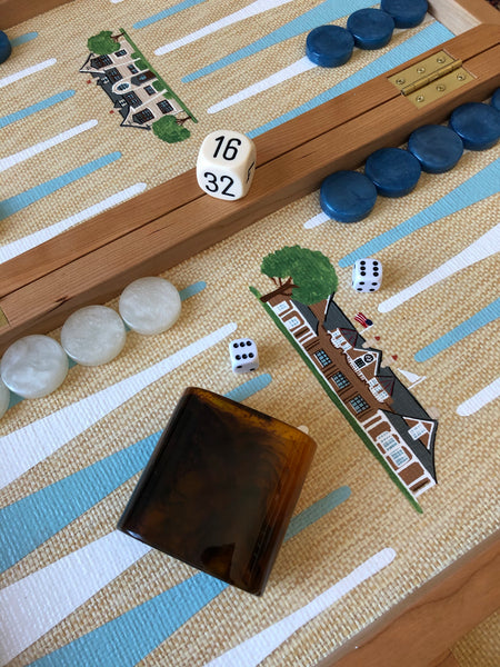 Custom Folding Backgammon Board