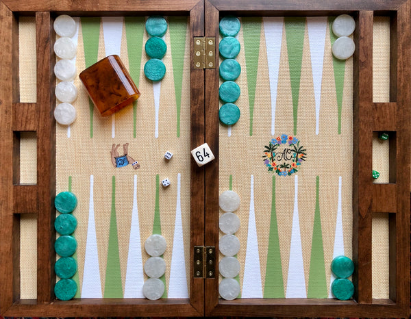 Walnut Backgammon Board