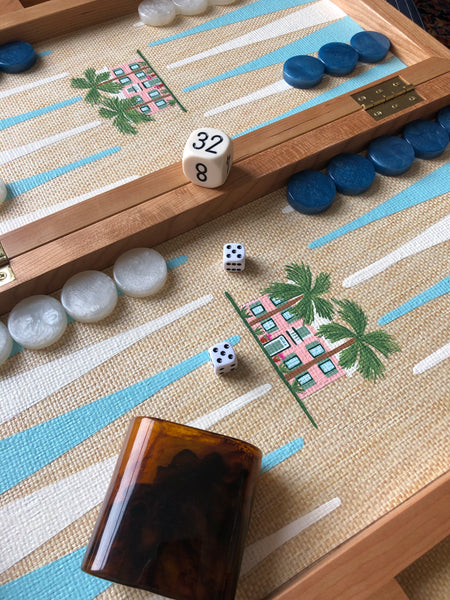 Pennsylvania Cherry Backgammon Board