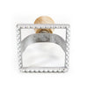 Aluminum Ravioli Stamp, Square, Large