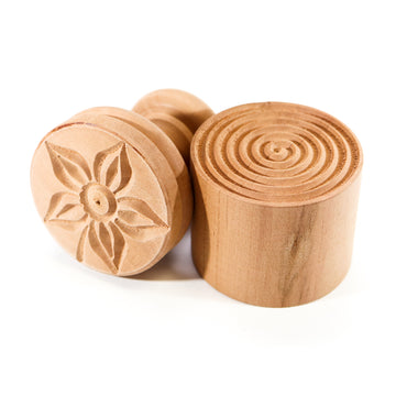 Wooden Corzetti Stamp, Flower