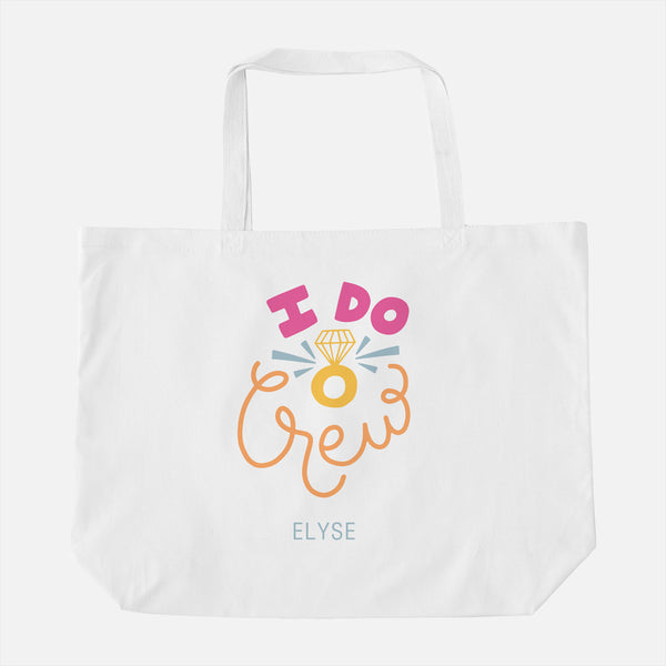 Bachelorette Oversized Tote Bag
