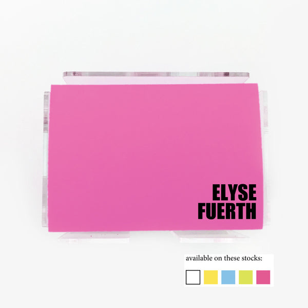Bold Spot Color Post it Notes