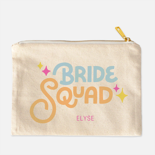 Bride Squad Cosmetic Case