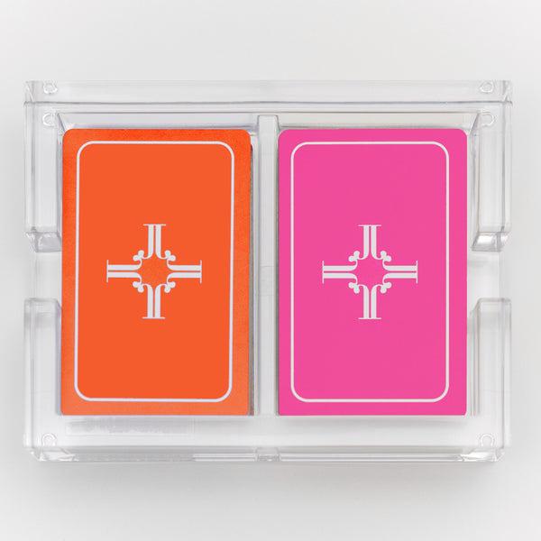 Monogram Playing Cards
