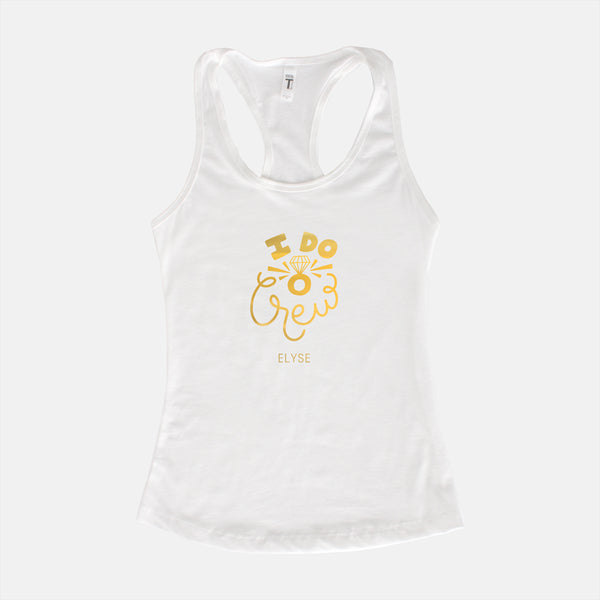 bachelorette weekend tank top