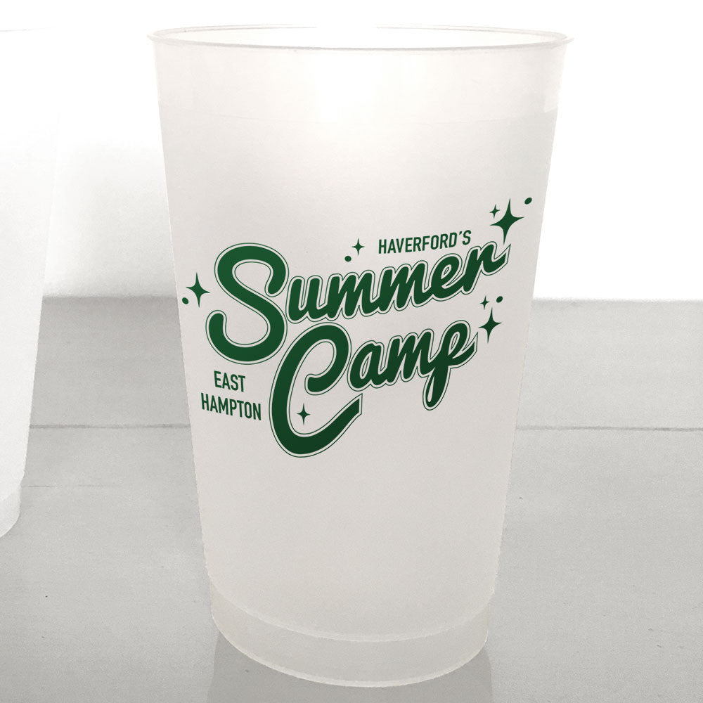 Personalized Retro Shatterproof Cups, Summer Camp style