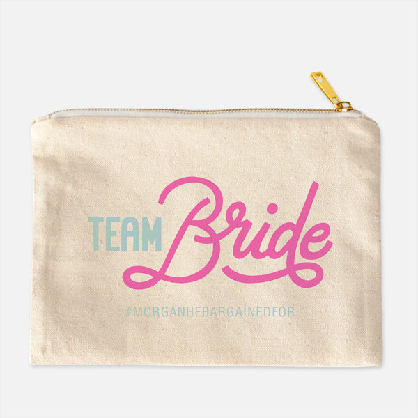Team Bride Cosmetic Case