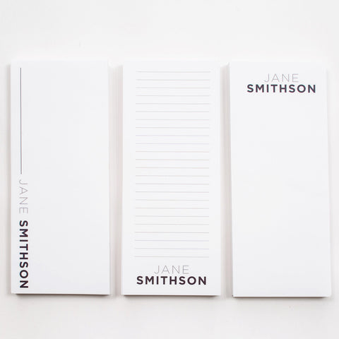 Assorted List Pad Personalized with your name
