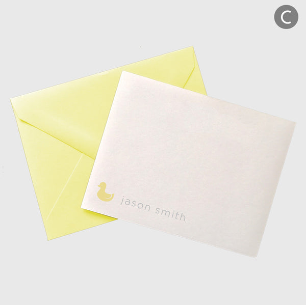 cute personalized thank you cards
