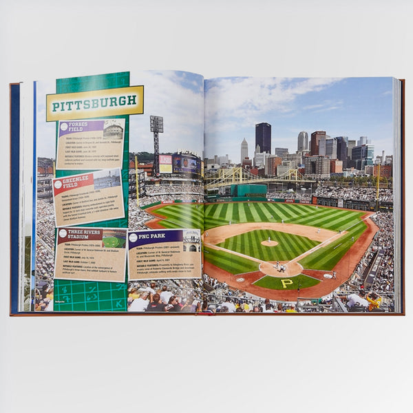 Ballparks Past and Present Book - Pittsburgh stadiums