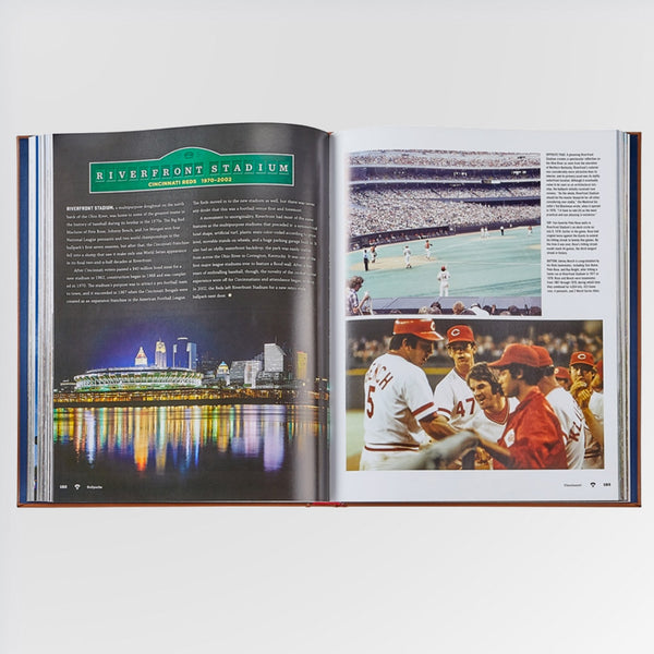 Ballparks Past and Present Book - Riverfront Stadium