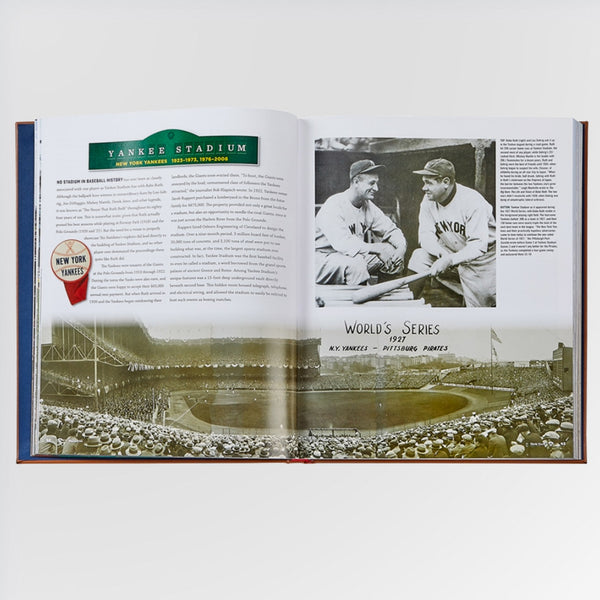 Ballparks Past and Present Book - Yankee Stadium