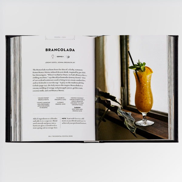 The Essential Cocktail Book - recipe for a Brancolada