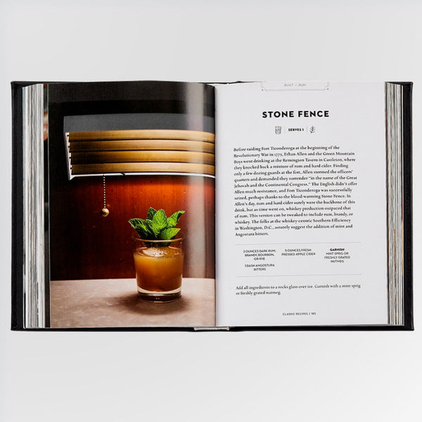 The Essential Cocktail Book - recipe for a Stone Fence