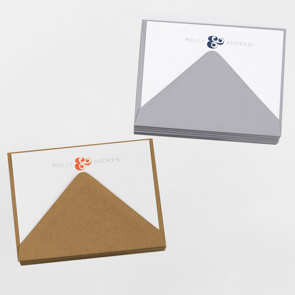 presonalized Everyday Stationery Set