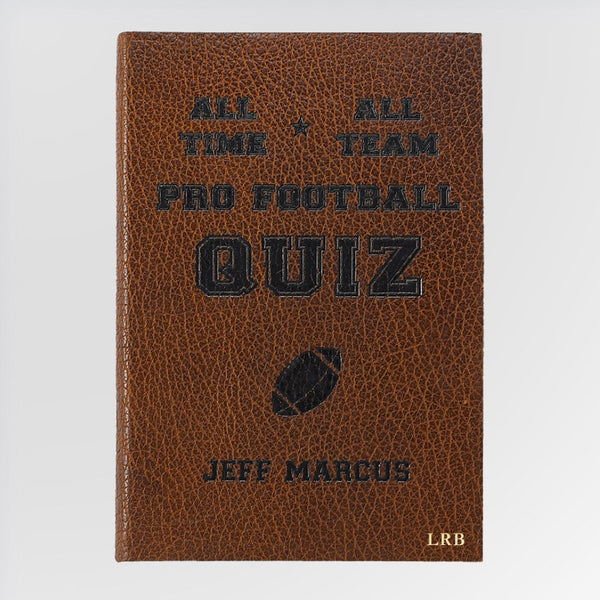 All-Time, All-Team Pro Football Quiz Book