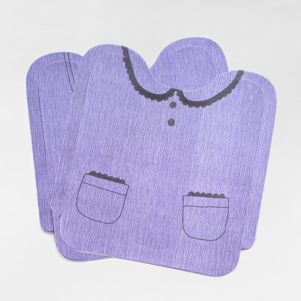 Disposable Girls Bibs