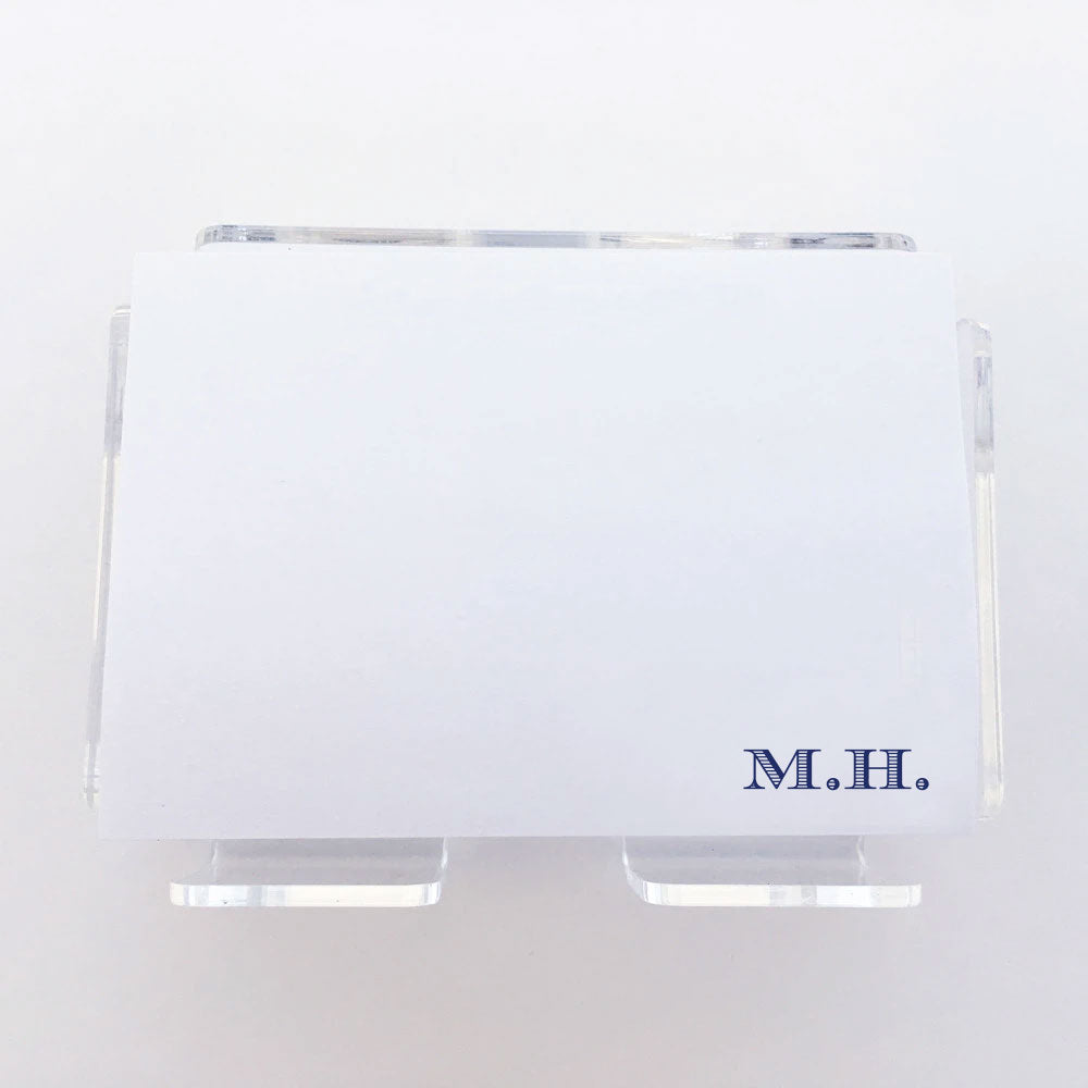 "Classic Initial Post it Notes 3"" x 4"""