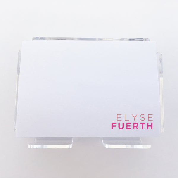 Modern Full color Post it Notes