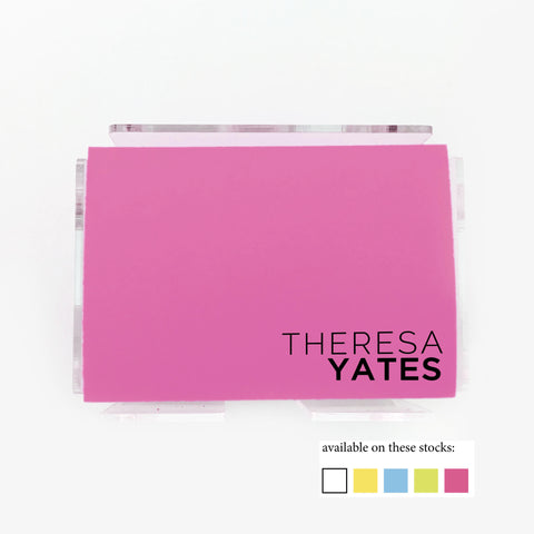 Modern Color Post it Notes