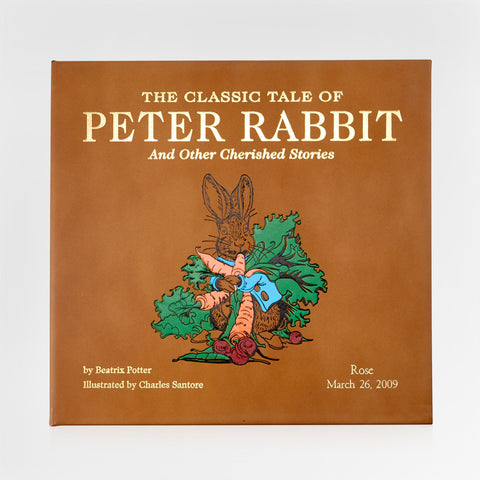 leather bound keepsake peter rabbit