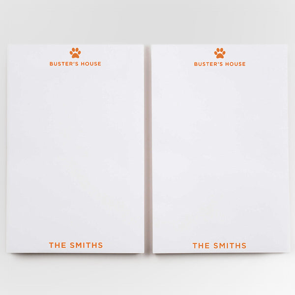 custom family notepads