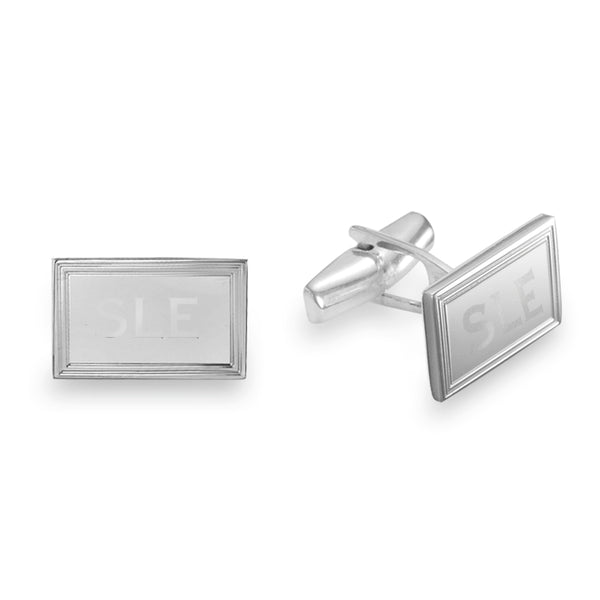 classic personalized cufflinks