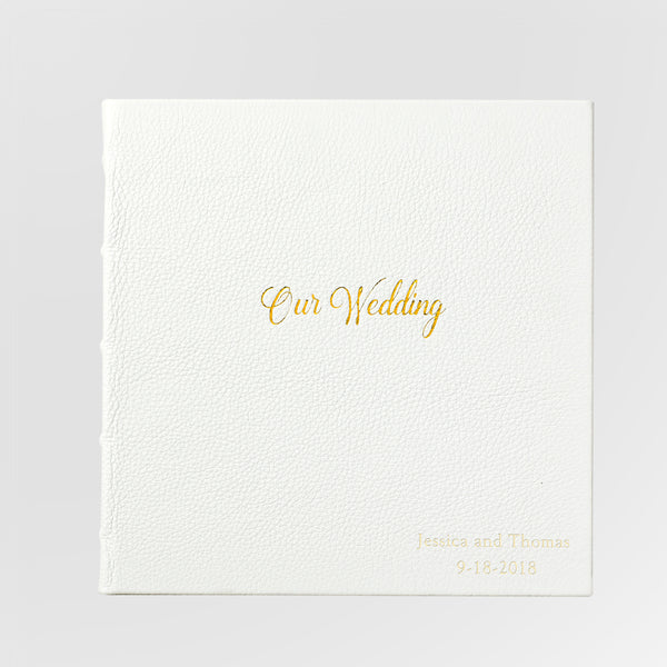 unique personalized wedding journal