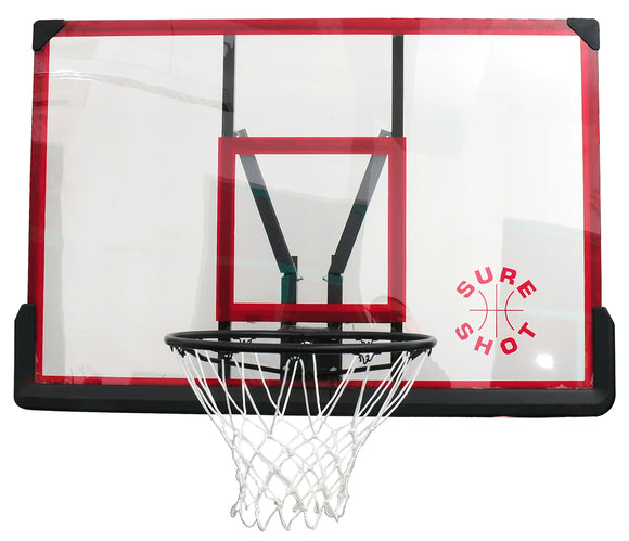 Sure Shot 506ACR Wall Mount Acrylic Backboard and Ring Set