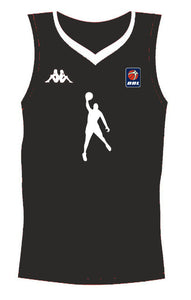 Black Dunking Jersey