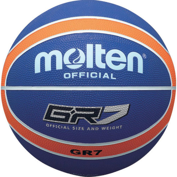 Molten GR Rubber Ball - Orange/Blue