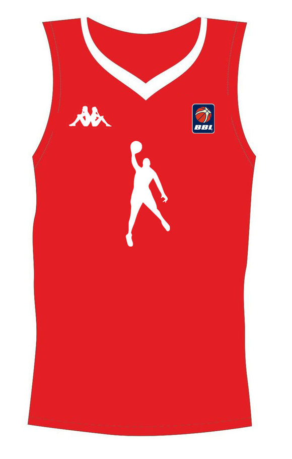 Red Dunking Jersey
